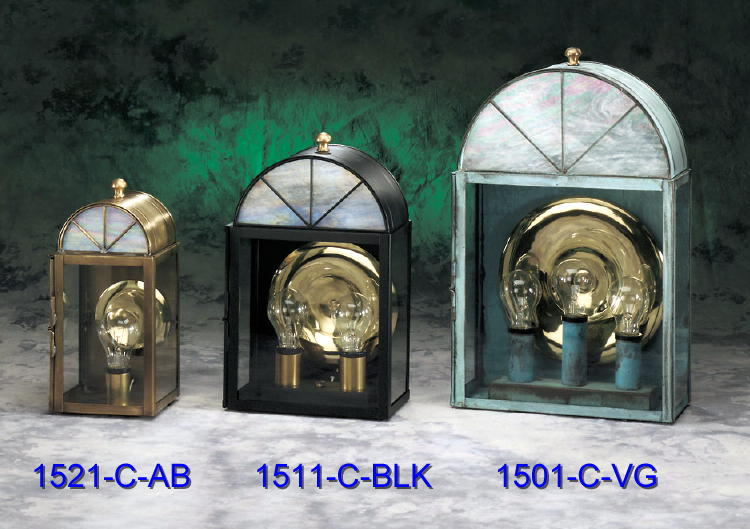 Brass Wall Lanterns 1521-1511-1501