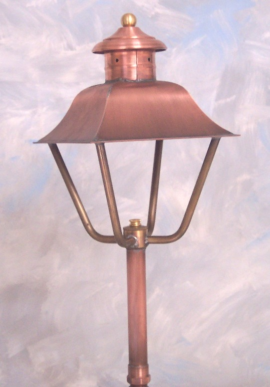 Copper Garden Light 1950