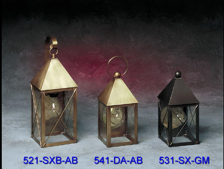 Brass Wall Sconces 521-541-531